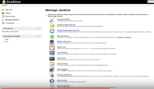 Problem gelöst: Jenkins/Docker