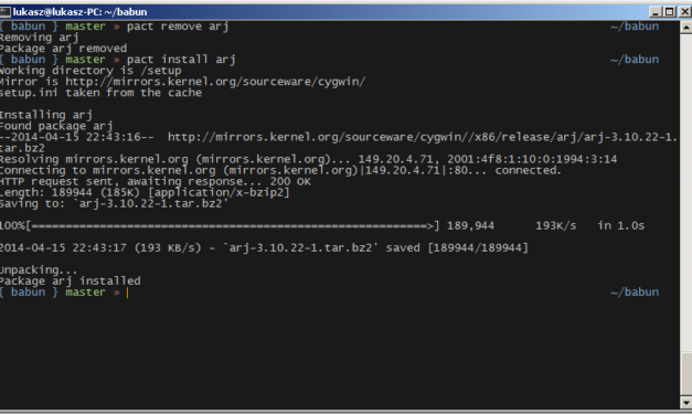 Babun Linux Shell vorgestellt
