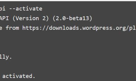 WordPress im Terminal mit WP-CLI