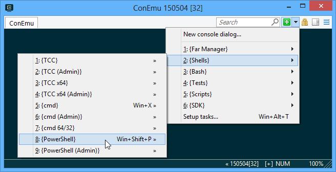 ConEmu der erweiterte Konsolen-Emulator