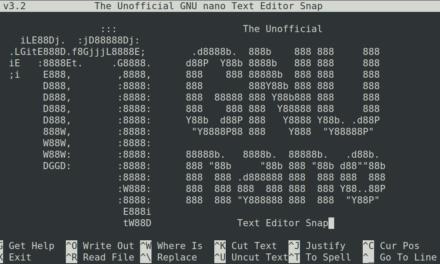 Nano Texteditor + Installation und Verwendung